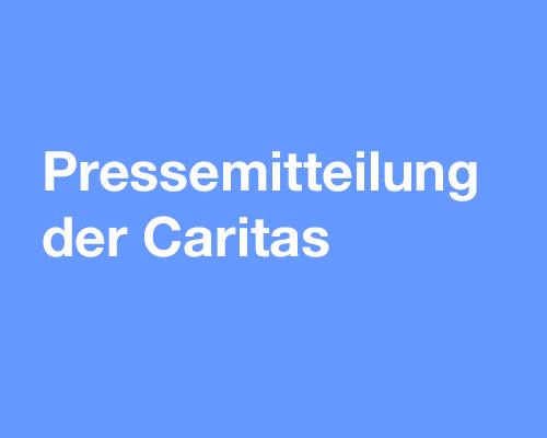 pressemitteilung der caritas 2