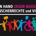 Hand in Hand gegen Rassismus – Menschenkette am 19. Juni