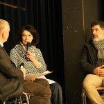 Interview mit Ingrid Steininger, die in ihrem Salon den syrischen Barbier Hasan Khalil angestellt hat