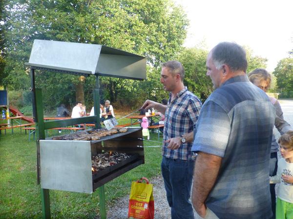 Nachbarschaftsfeier in der Kleingartenanlage am Schreberweg